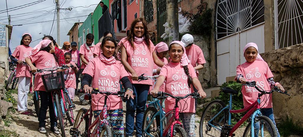Natalia Espitia de la fundación Niñas Sin Miedo