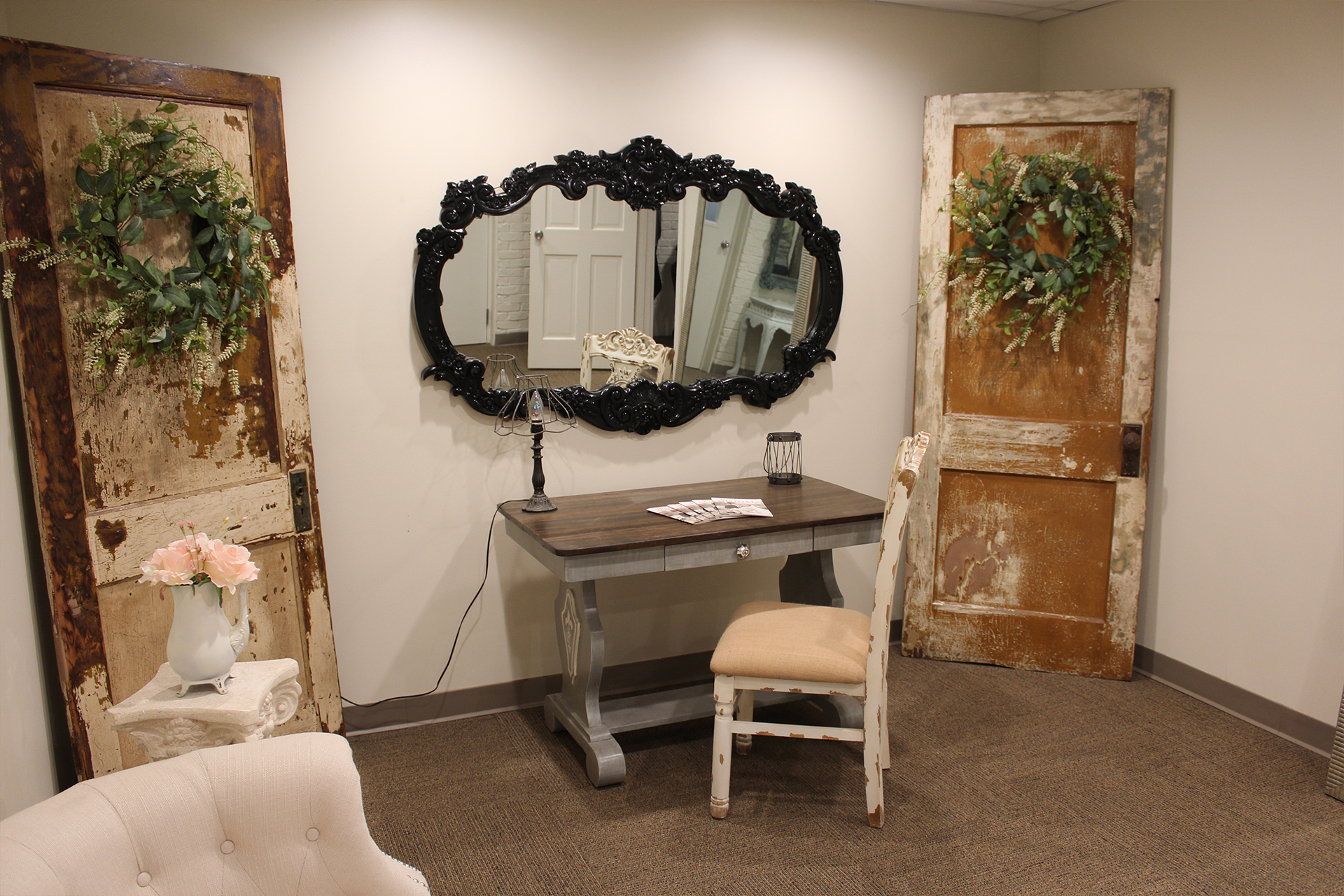 The Bride Room at The Rose Chapel