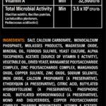 Mineral Dirt Guaranteed Analysis