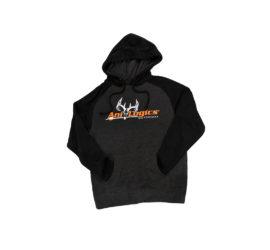 ani-logics favorite hooded dark gray sweatshirt