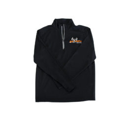 ani-logics mens black quarter zip