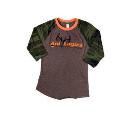 ani-logics womens 3qtr camo shirt