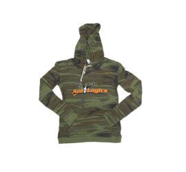 ani-logics womens camo hoodie