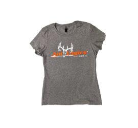 ani-logics womens gray t-shirt