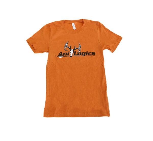 ani-logics orange t-shirt front