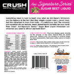 Crush Sugar Beet Liquid Back