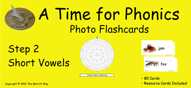 A Time For Phonics Photo Flashcards