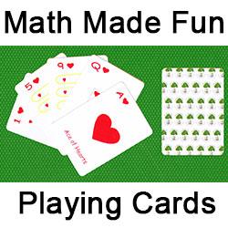 Math Made Fun Playing Cards