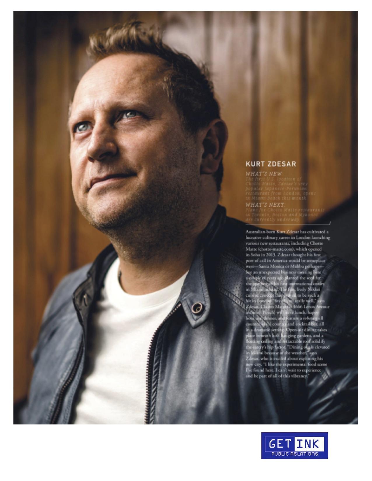 Chotto Matte Miami Magazine - Get Ink Pr