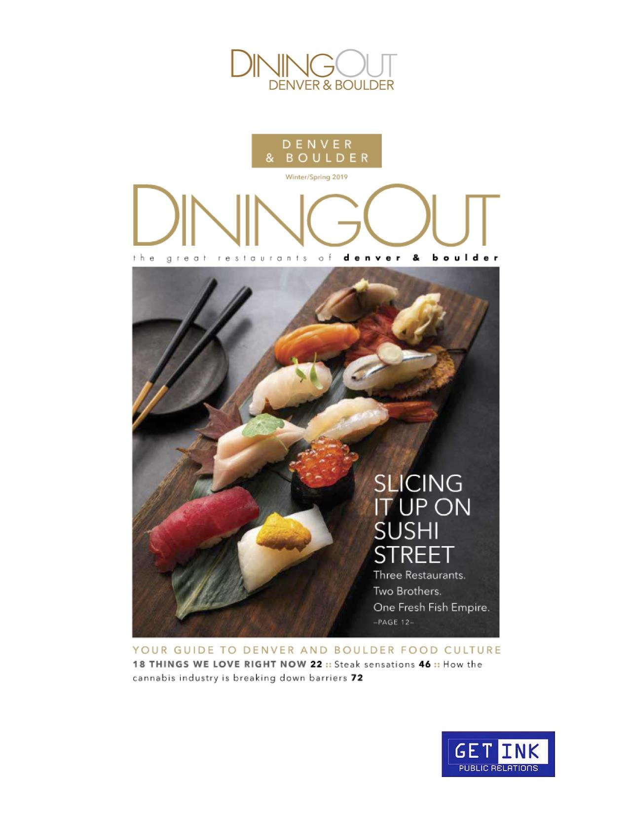 Sushi Den, Izakaya Den, Ototo Den Dining Out - Get Ink Pr