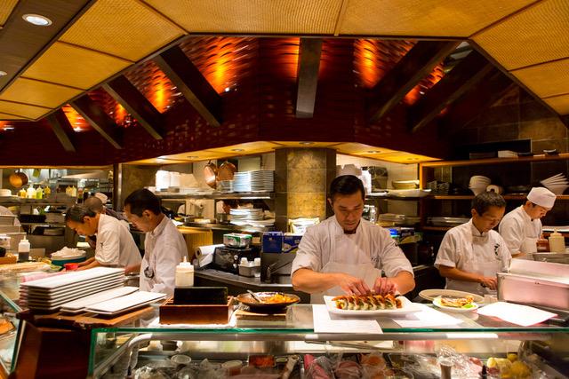 Sushi Den Sushi Chefs - Get Ink Pr
