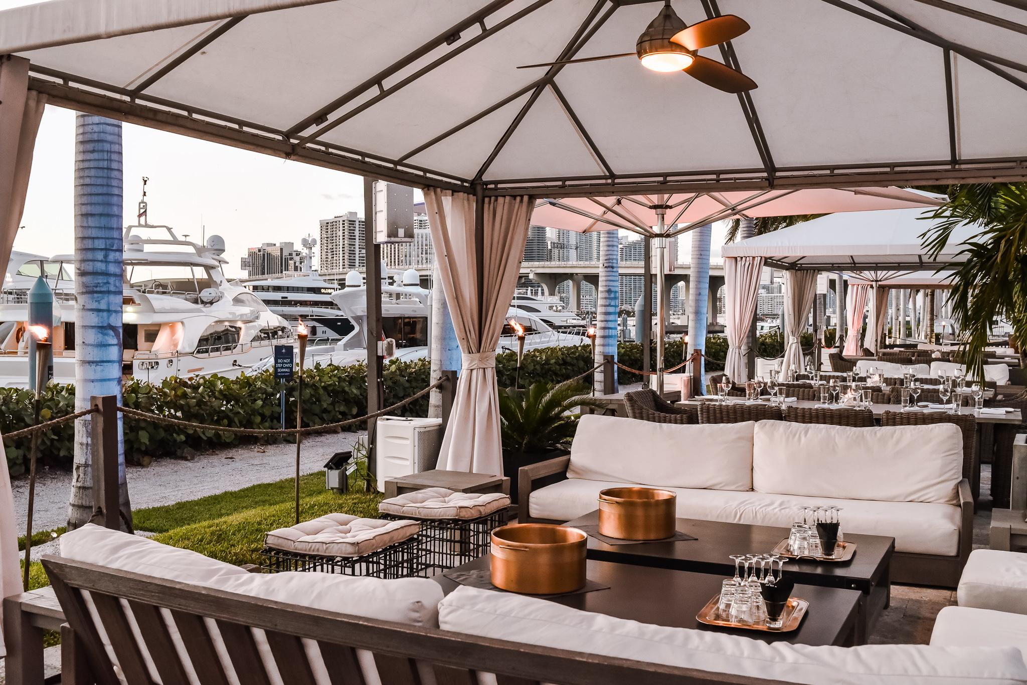 The Deck at Island Gardens Miami Cabanas - Get Ink PR