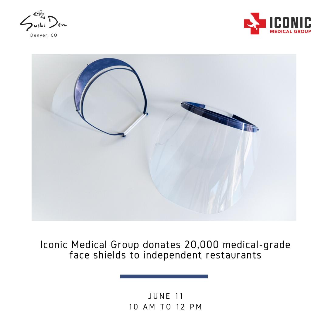 Iconic Medical Group Denver Donation - Get Ink PR