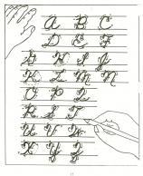 handwriting in school