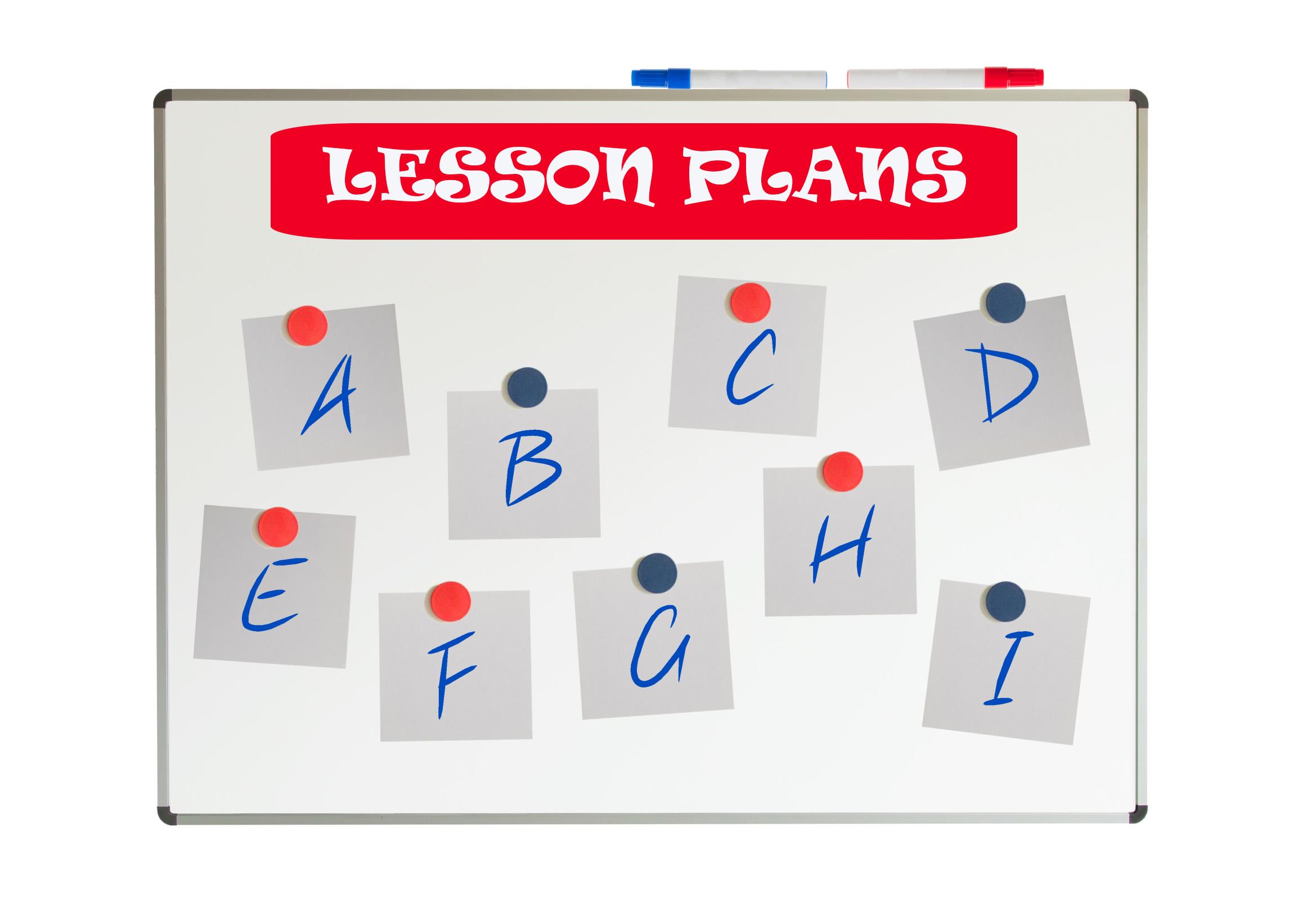 LESSON PLANNING