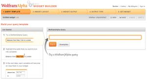 wolfram alpha widget builder