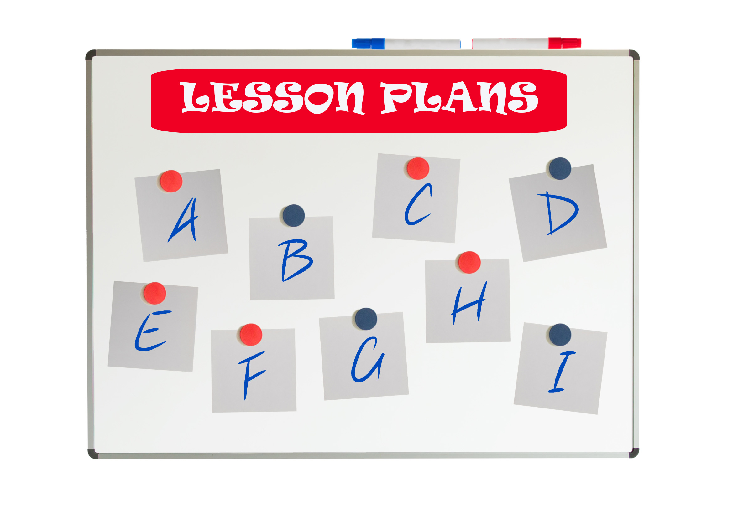 mobile lesson planning