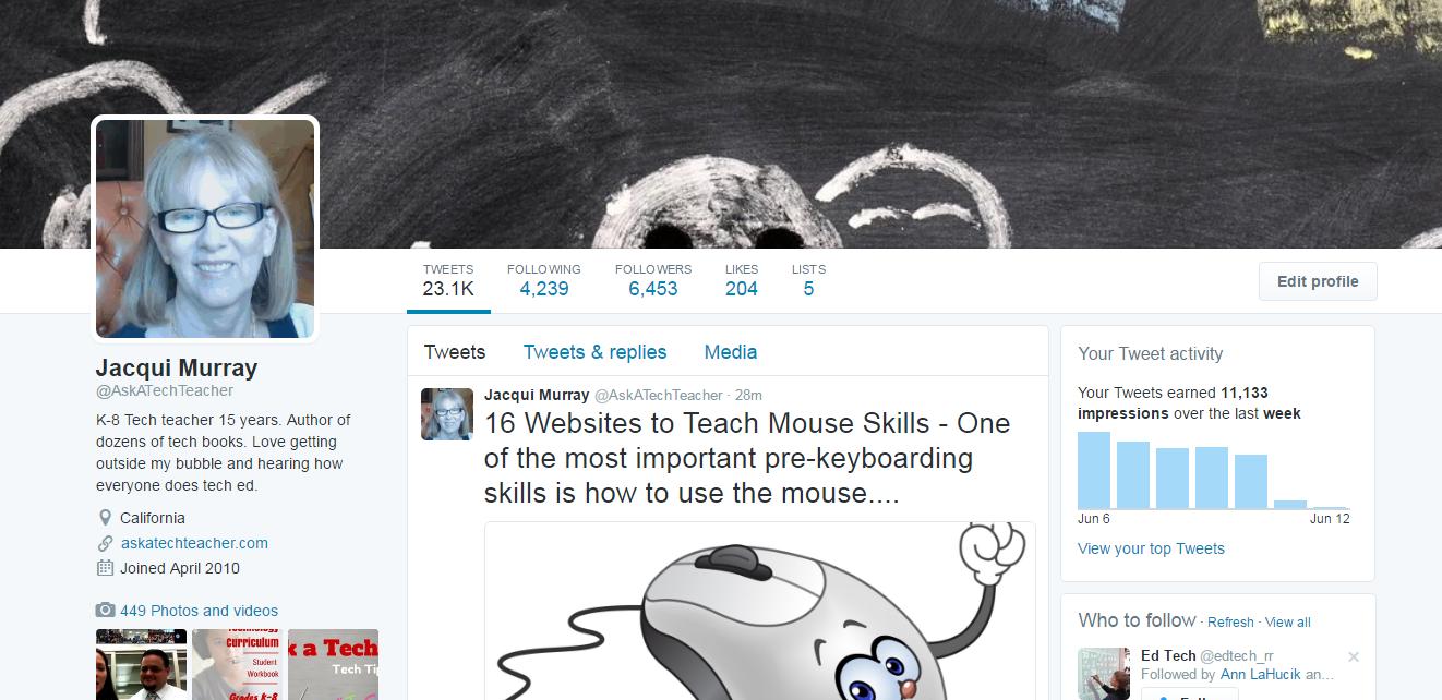 twitter for educators