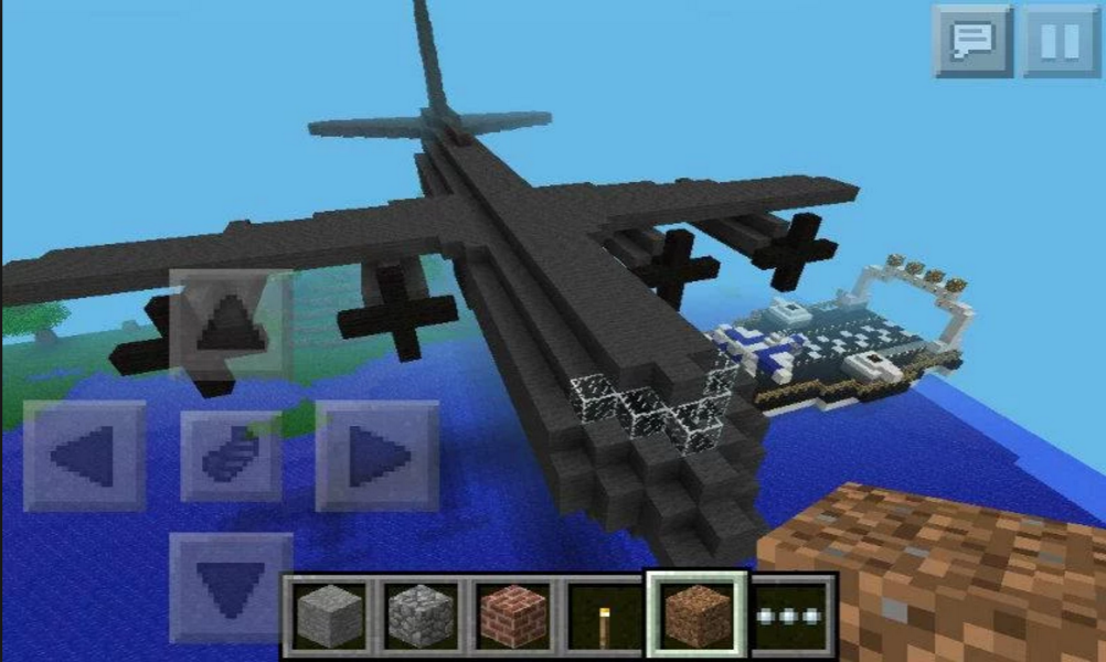 minecraft plane