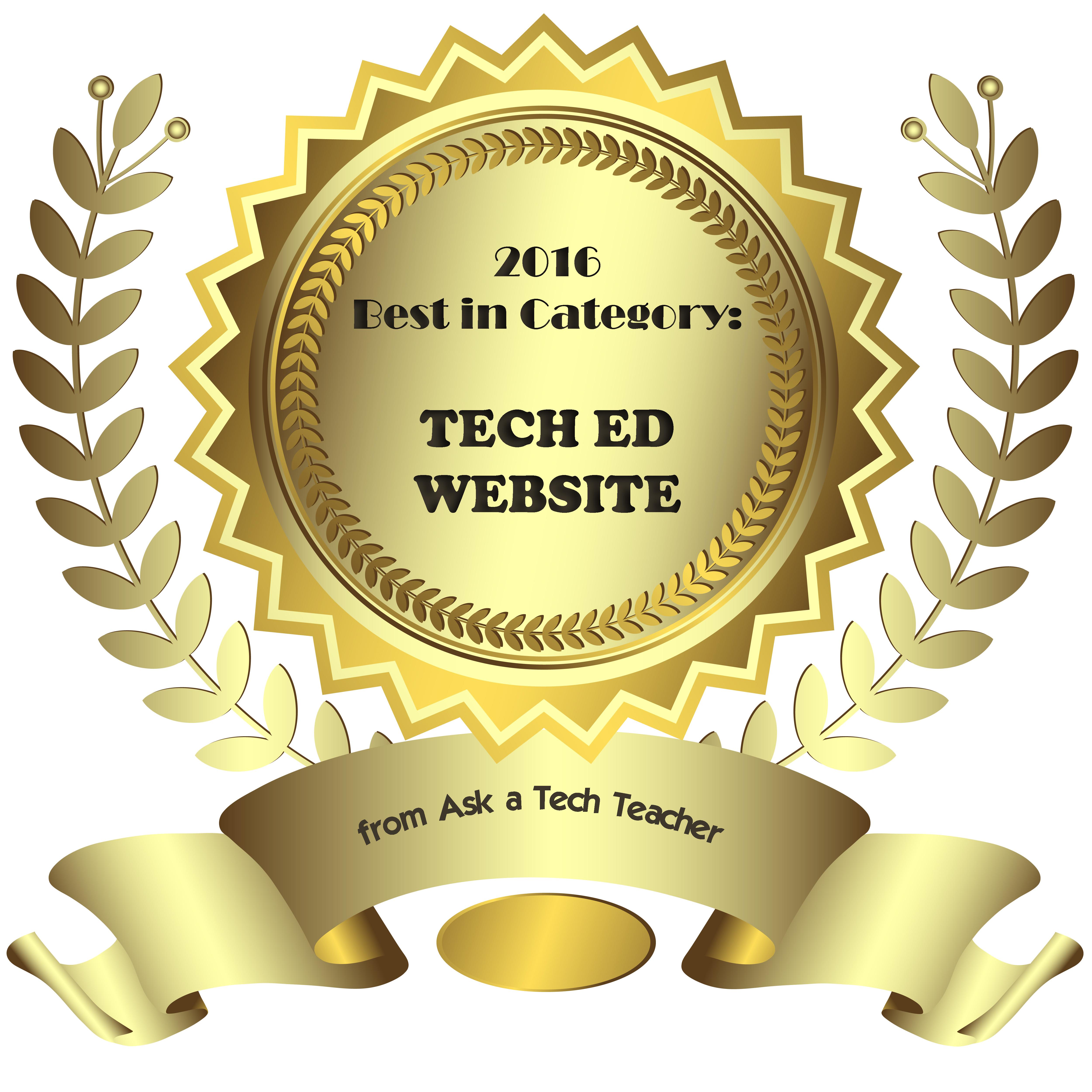 tech ed awards