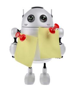unplugged robot