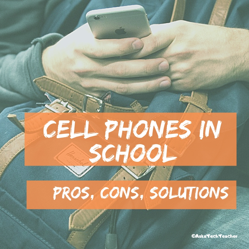 cell phones in class