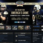 Where will the President be December 8th? The Army-Navy Game