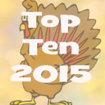 Top 10 Commented-on Articles and Click-throughs in 2015