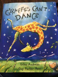 giraffe, dance, jungle, funny, clumsy, sad, music, tune