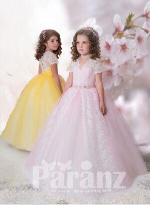 Pretty princess long tulle skirt dress