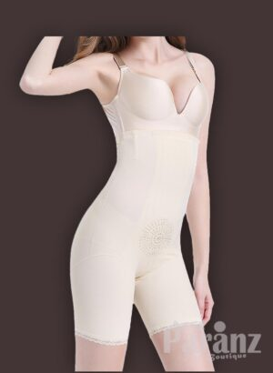 High waist and thigh slimming underwear body shaper new side view