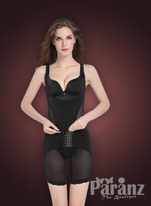 Open-bust style multi layer tummy slimming body shaper new