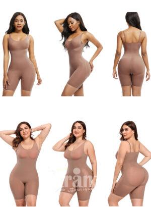 High waist tummy control soft and smooth butt lifter body shaper Women