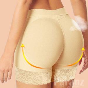 Comfortably Large Size Nude Padded Bottom Underwear