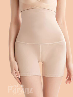 Control Midsection Complexion Mesh Open Butt Lifter Panties Shapewear view