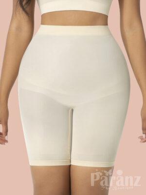 High Waist Big Size Shapewear Shorts Firm Compression