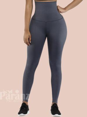 National Gray 3D Print Slim Fit Yoga Legging Cheap Online Sale