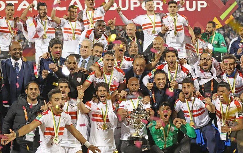 Zamalek yegukanye 'CAF Super Cup' itsinze Espérance de Tunis