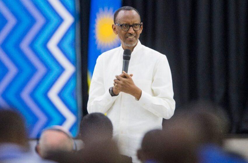 Aho bayobora bahafashe nk'ahabo baha uwo bashaka bakima uwo bashaka- Kagame