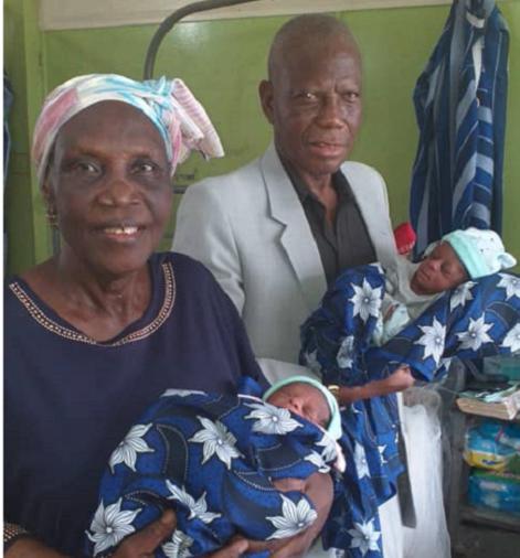 Nigeria: Umugore w'imyaka 68 watewe intanga yabyaye impanga