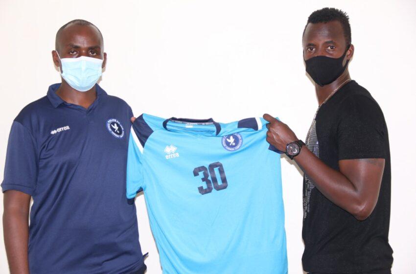Faustin Usengimana wifuzwaga na Rayon yasinye muri Police FC