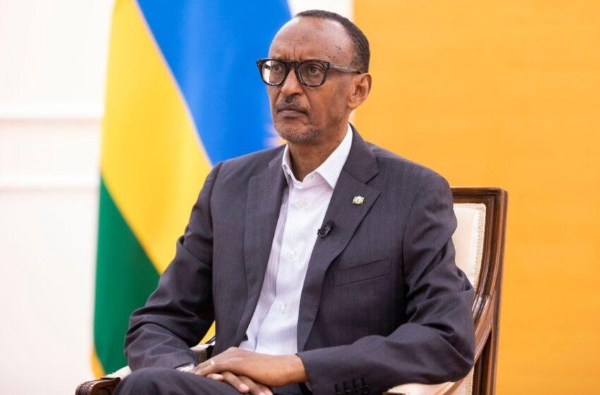 Perezida Kagame arageza ku Banyarwanda ijambo risoza 2020