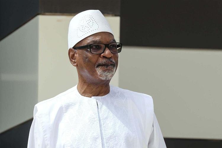Mali: Ibrahim Boubacar Keïta ari mu bitaro