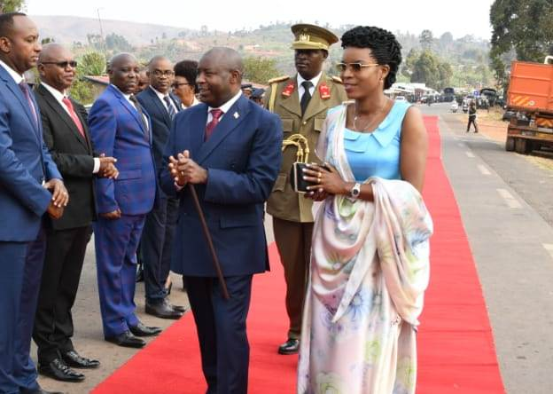 Amafoto: Uruzinduko rwa Perezida Ndayishimiye muri Tanzania