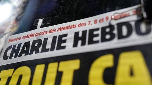 Charlie Hebdo yashushanyije Perezida Erdogan Turikiya ibifata nk'umwanduranyo