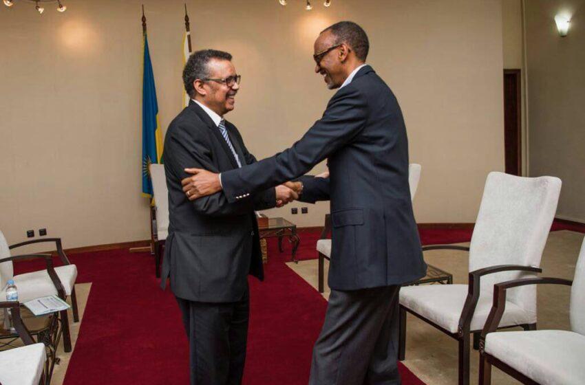 U Rwanda rushimirwa ko rwaciye intege COVID-19 – Dr Tedros