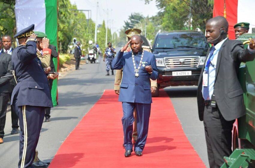 Perezida Ndayishimiye w'u Burundi mu ruzinduko rw'iminsi 5 muri Guinée Équatoriale