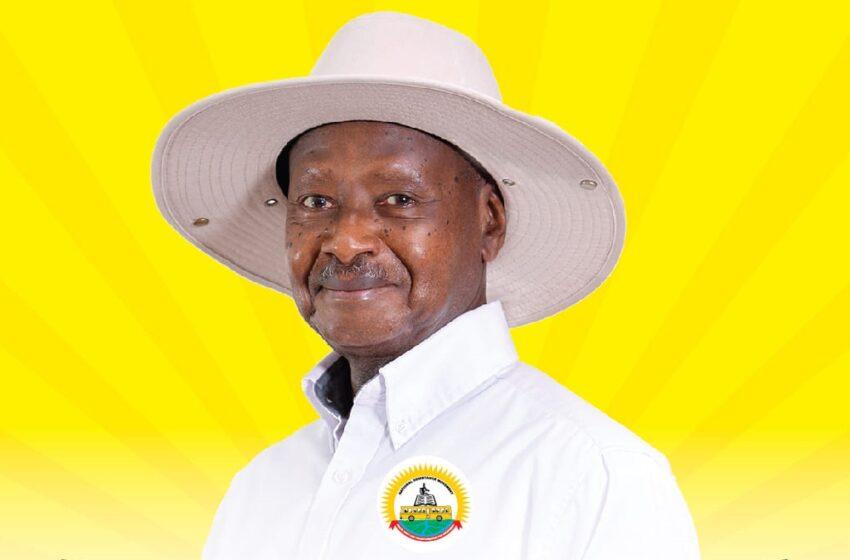 Museveni yishimiye ko azahagararira ishyaka rye NRM mu matora ya Perezida