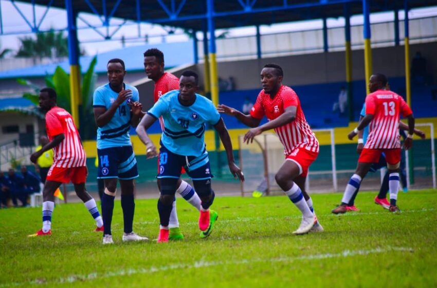 Police FC yanganyije na Musanze FC, mu mukino wa gicuti