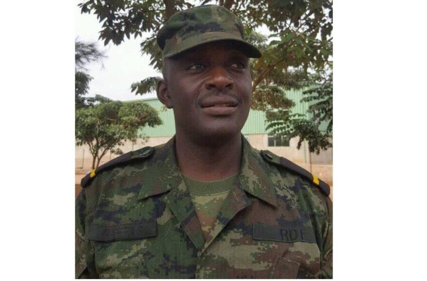 RDF yatangiye iperereza ku biregwa Sergeant Robert byo gusambanya umwana